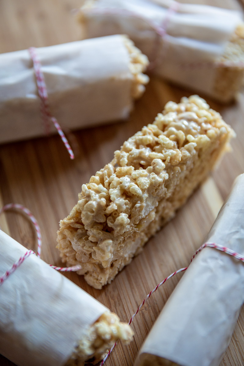 Brown Butter Rice Crispy Treats.