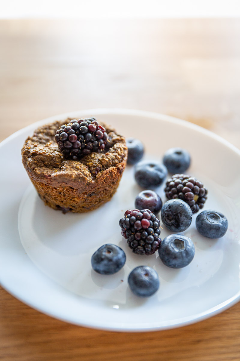 Pre Workout Ginger Molasses Bran Muffins recipe