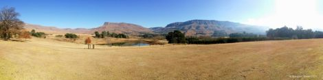 The beautiful Silver Hill Lodge, Drakensberg