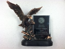 Stephen M. Vantassel, 2012 Educator of the Year Award from the National Wildlife Control Operators Association (NWCOA).