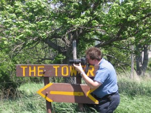 I am looking for photographs of wildlife sign.