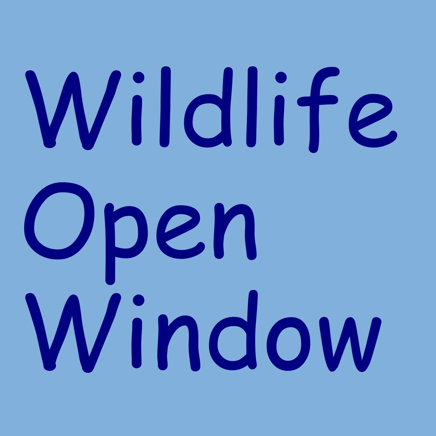 Wildlife Open Window Logo
