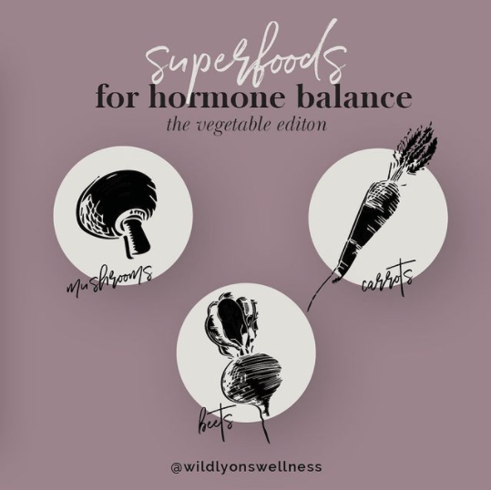 Superfoods for Hormone Balance