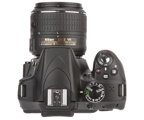 Nikon D3300 vs D3200