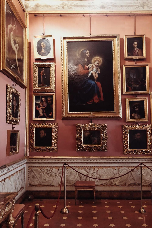 Galleria Paladina Palazzo Pitti Paintings