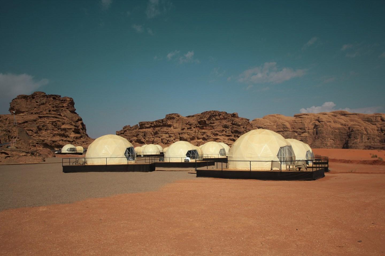 Wadi Rum Luxury Desert Camp in Jordan Mazayen Rum Camp Domes
