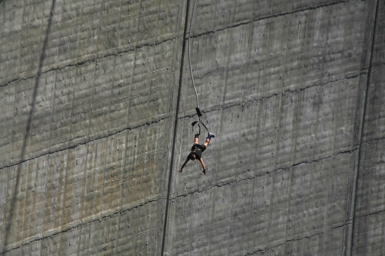Verzasca Dam 007 Bungee Jump James Bond GoldenEye