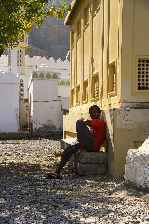 Kumzar People Oman