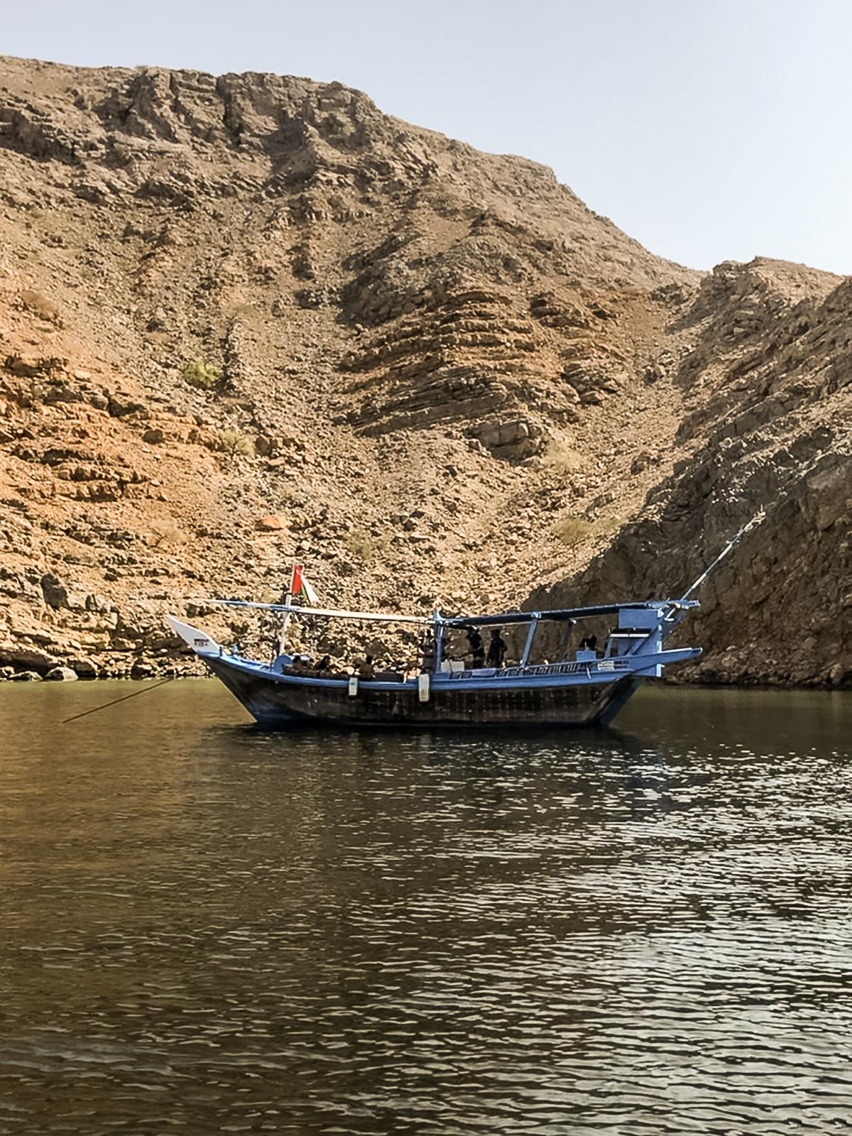 Musandam Sea Adventure Dhow cruise