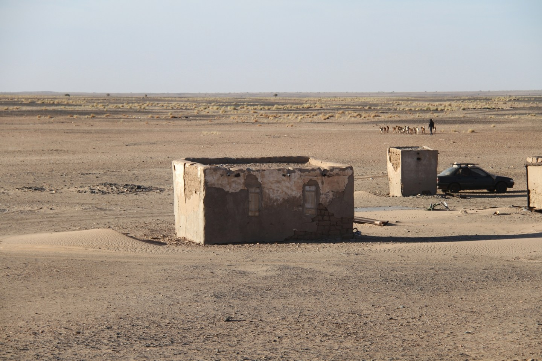 Mauritania Sahara Desert Village