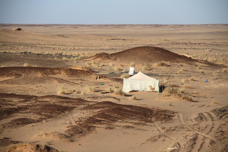 Mauritania Sahara Desert Nomads Camp