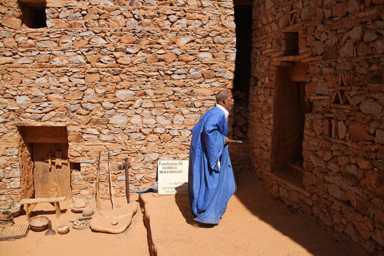 Chinguetti Mauritania Sahara Desert Library