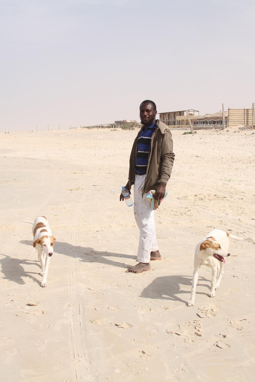 Nouakchott Traditional Boats Beach