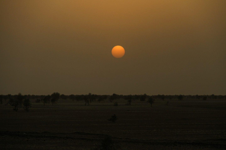 Mauritania Sahara Deser Sunset