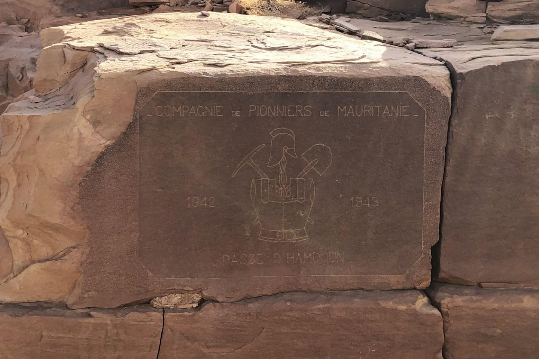 Passe D'Hamdoun 1942-1943 - Compagnie de Pionniers de Mauritanie