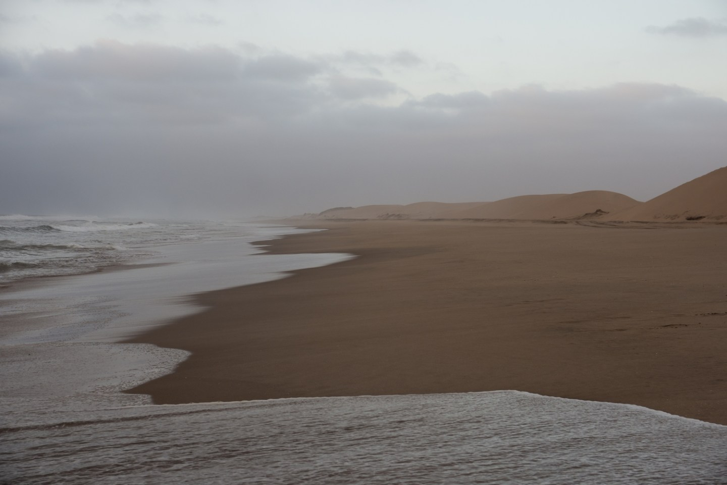Wheere the Namib Desert meets the Atlantic Ocean swim