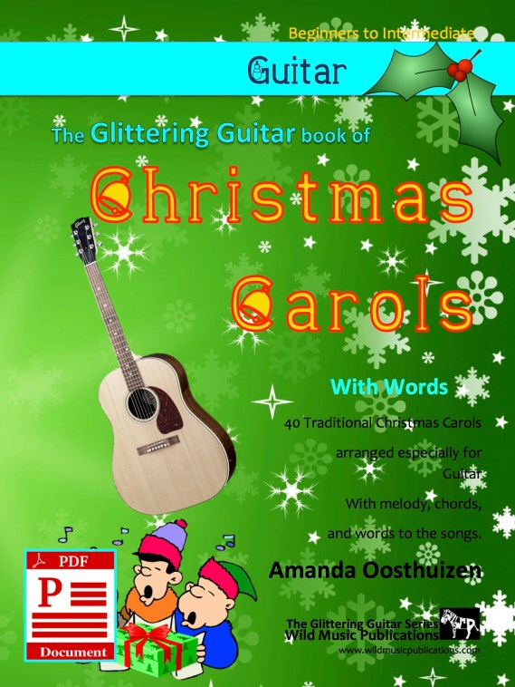 Christmas Carols for Guitar with words