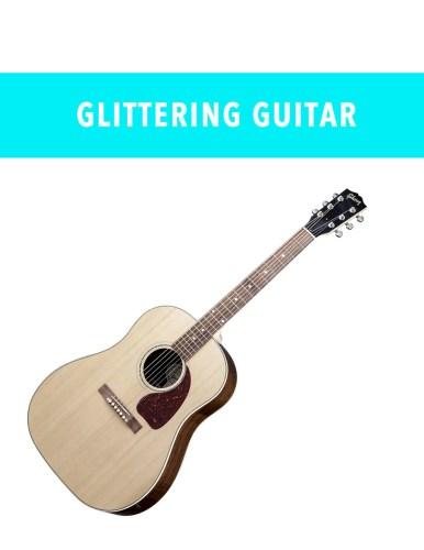 Glittering Guitar