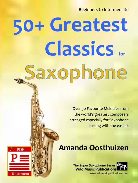 50+ Greatest Classics for Saxophone Download