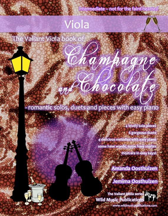 The Valiant Viola book of Champagne and Chocolate
