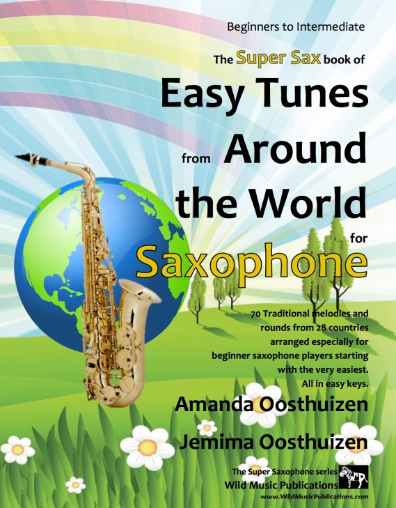 Easy Tunes from Around the World for Saxophone