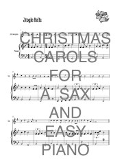CHRISTMAS Carols for a.sax and easy piano web sample