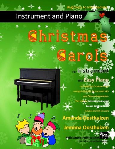 Christmas Carols with Easy Piano
