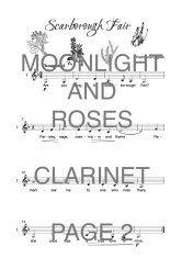 The Catchy Clarinet Book of Moonlight and Roses Web Sample1