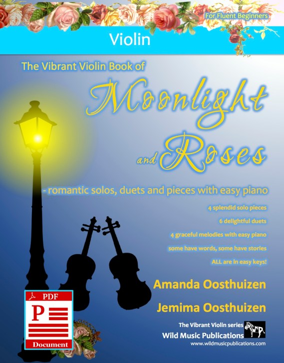 The Vibrant Violin Book of Moonlight and Roses Download