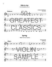 50+ Greatest Classics Violin WEB SAMPLE