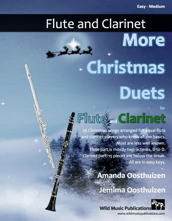 More Christmas Duets for Flute and Clarinet