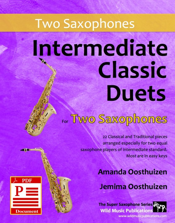 Intermediate Classic Duets for Two Saxophones Download