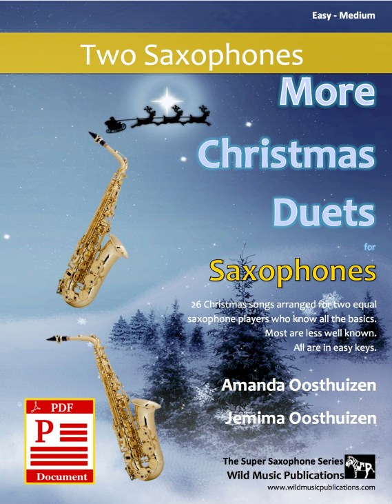More Christmas Duets for Saxophones Download