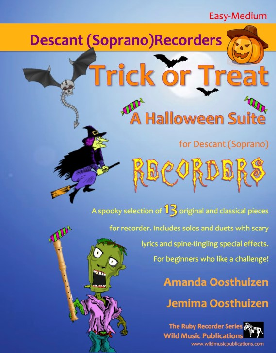 Trick or Treat - A Halloween Suite for Descant (Soprano) Recorders