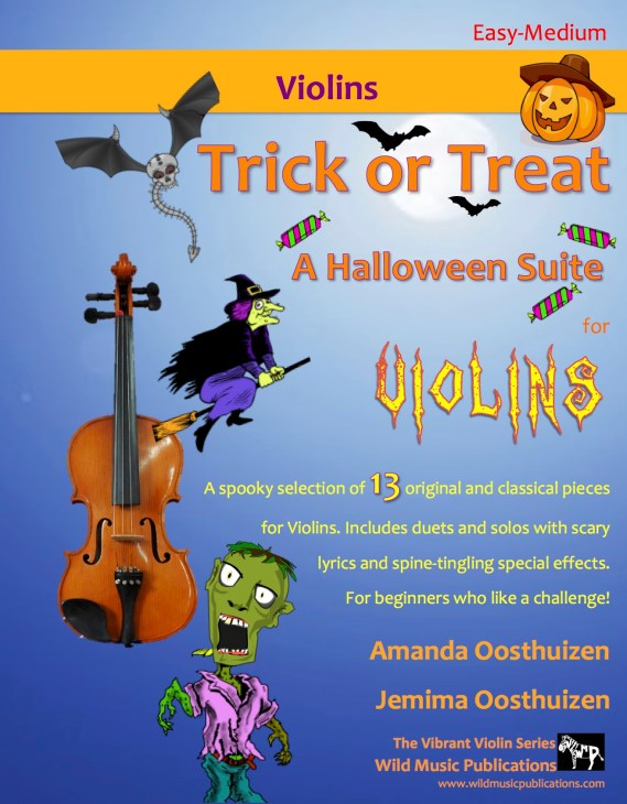 Trick or Treat - A Halloween Suite for Violins
