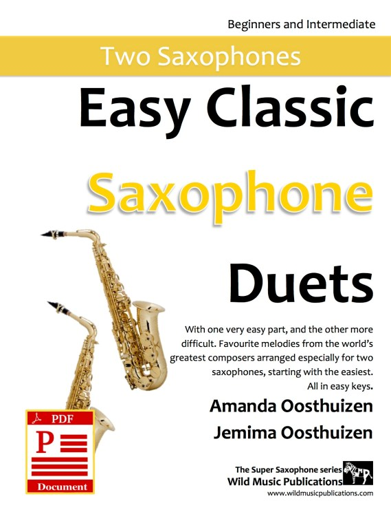 Easy Classic Saxophone Duets Download