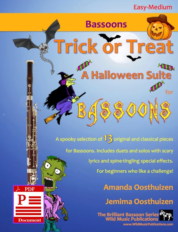 Trick or Treat - A Halloween Suite for Bassoons Download