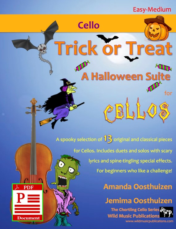 Trick or Treat - A Halloween Suite for Cellos Download