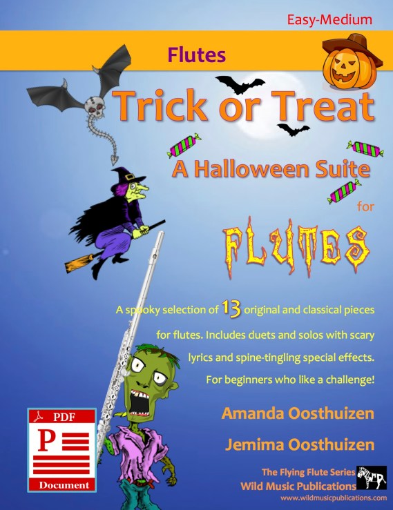 Trick or Treat - A Halloween Suite for Flutes Download