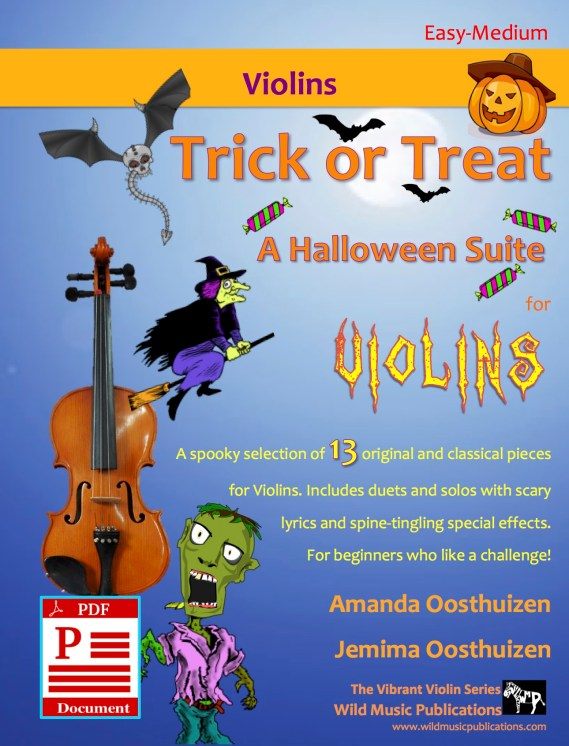 Trick or Treat - A Halloween Suite for Violins Download