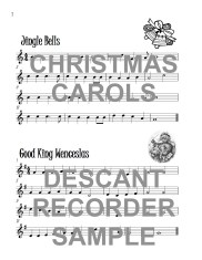 The Ruby Recorder Book of Christmas Carols Web Sample