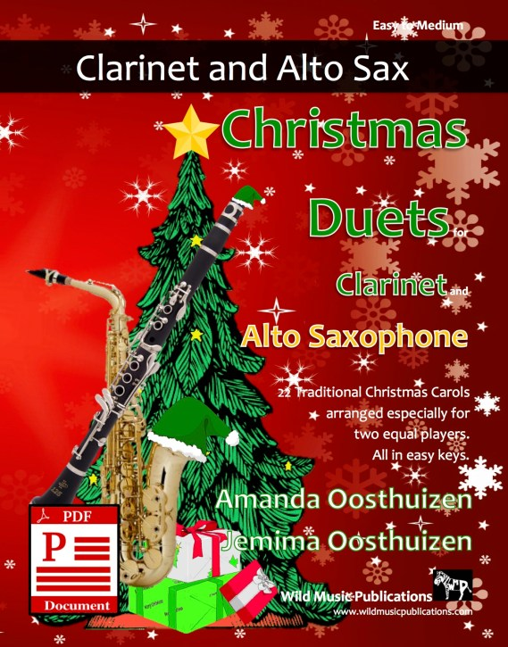 Christmas Duets for Clarinet and Saxophone Download