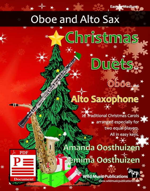 Christmas Duets for Oboe and Alto Saxophone Download