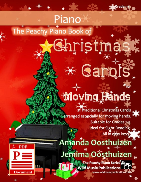 The Peachy Piano Book of Christmas Carols for Moving Hands Download