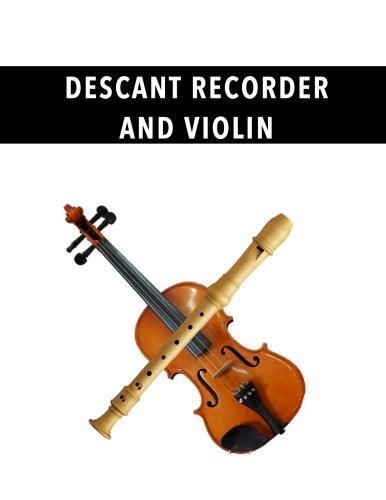 Descant Recorder and Violin