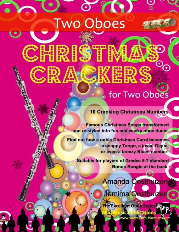 Christmas Crackers for Two Oboes