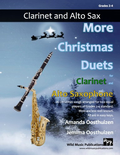 More Christmas Duets for Clarinet and Alto Saxophone