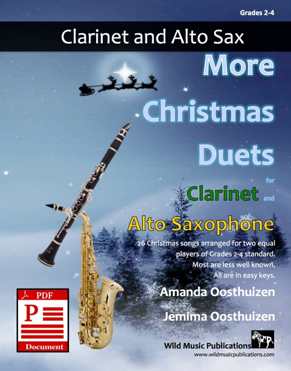 More Christmas Duets for Clarinet and Alto Saxophone Download