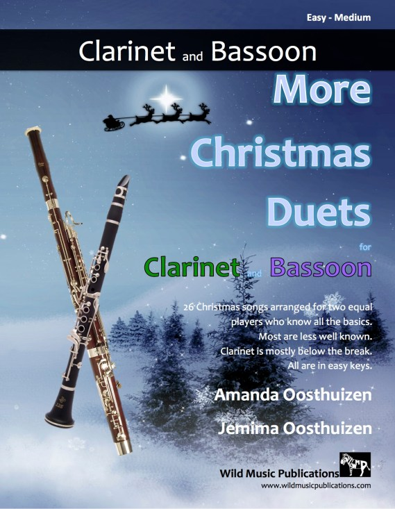 More Christmas Duets for Clarinet and Bassoon