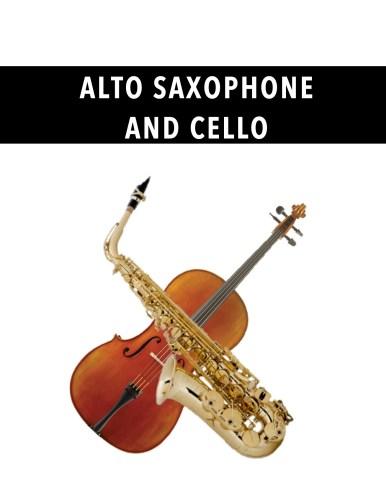 Alto Saxophone and Cello